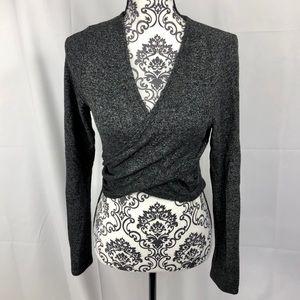 Lulu's Wrap Cropped Sweater